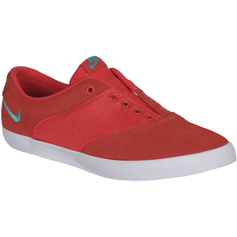 Zapatilla de Mujer Nike mini snk rd Rojo, Material Cuero, Color Rojo