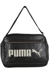 Maletin Casual de Hombre Puma CAMPUS RP Negro