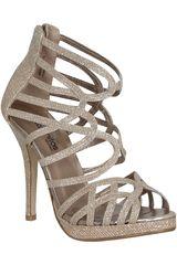Platanitos Beige de Mujer modelo FP URBAN102 Calzado Zapatos Plataformas Fiesta