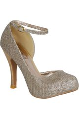 Activa Dorado de Mujer modelo FP TRENCH162M-A Casual Sandalias Fiesta Calzado