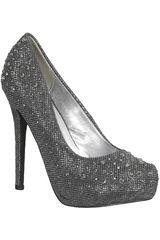 Platanitos Pewter de Mujer modelo FP INGRID02 Plataformas Zapatos Calzado Fiesta