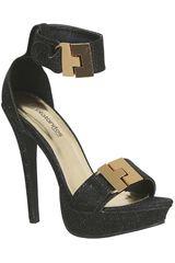 Platanitos Negro de Mujer modelo FSP AILIE19 Casual Fiesta Sandalias Calzado