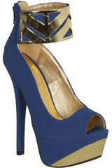 Sandalia Fiesta de Mujer Platanitos CP COUNT50M Azul
