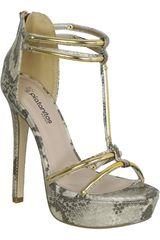 Sandalia de Mujer Platanitos SP CRISTO Dorado