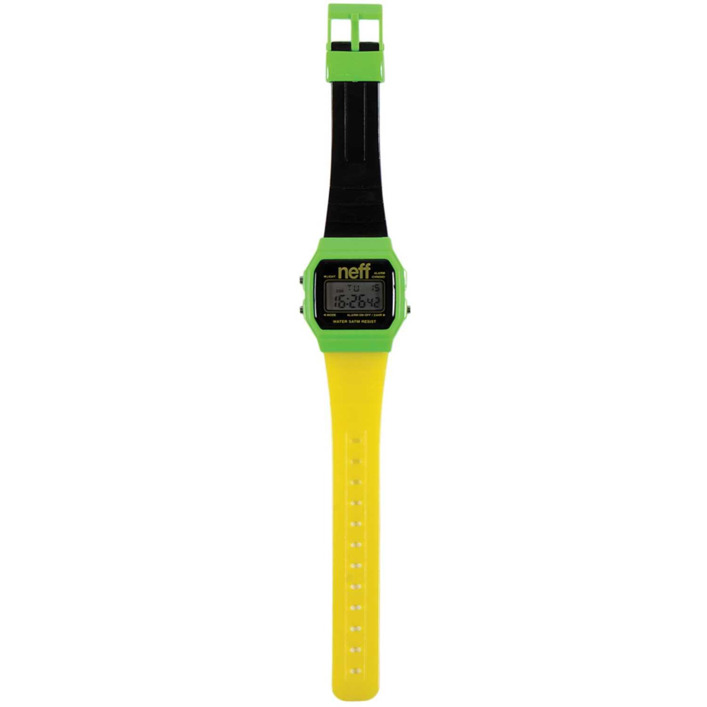 Reloj Deportivo  Neff Verde / amarillo flava