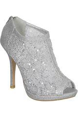 Activa Plateado de Mujer modelo SP GRACE21M-A Casual Plataformas Zapatos Mujer Calzado