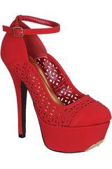 Qupid Rojo de Mujer modelo CP PSYCHE65 Casual Plataformas Zapatos Mujer Calzado
