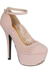 Qupid Beige de Mujer modelo CP PSYCHE65 Casual Plataformas Zapatos Mujer Calzado