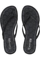 Platanitos Negro de Mujer modelo SF 1192 Sandalias Casual Flat