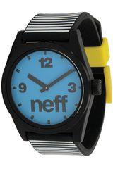 Reloj Deportivo de  Neff DAILY Blanco / Celeste