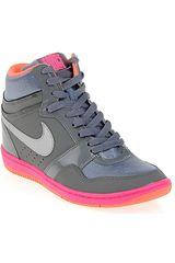 Zapatilla Botín de Mujer Nike FORCE SKY W Gris
