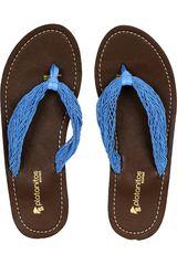 Sandalia de Mujer Platanitos SB 67017-A Azul