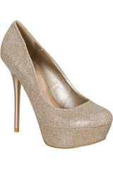 Qupid Champagne de Mujer modelo CP DAYDREAM22 Casual Plataformas Zapatos Mujer Calzado
