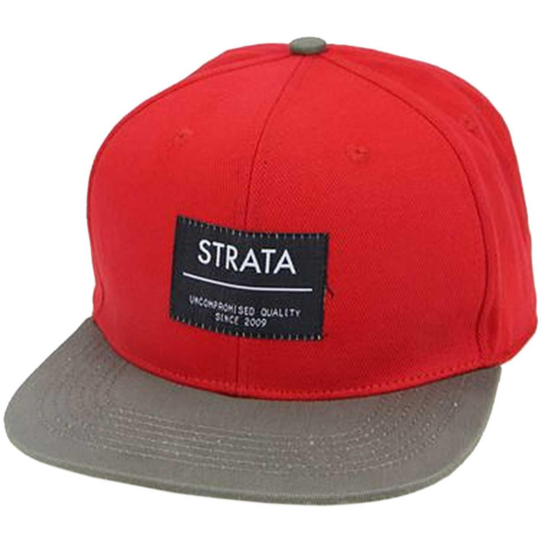 Gorro de Hombre Strata Rojo logo since