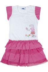 Vestido de Niña Peppa Pig PPG-061 Rosado