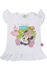 Polo de Bebita Minnie Mouse 3V15MN926622 Blanco