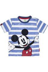 Polo de Bebito Mickey Mouse 3V15MK926001 Celeste