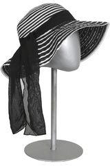 Sombrero de Mujer Platanitos N46-A Blanco