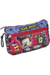 Cartuchera de Niño Mickey Mouse ST203-MCE15 Azul