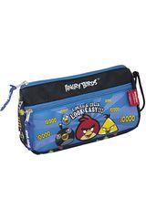Cartuchera de Niño Angry Birds ST203-ABH15 Azul
