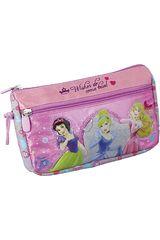 Cartuchera de Niña Disney Princesas ST203-PG15 Rosado