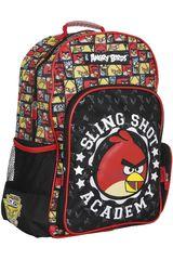 Mochila de Niño Angry Birds SK44-ABB15 Negro