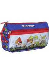Cartuchera de Niño Angry Birds ST203-ABE15 Azul