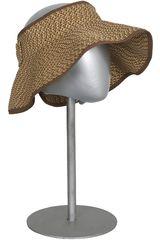 Sombrero de Mujer Platanitos ROLL VISOR Cafe