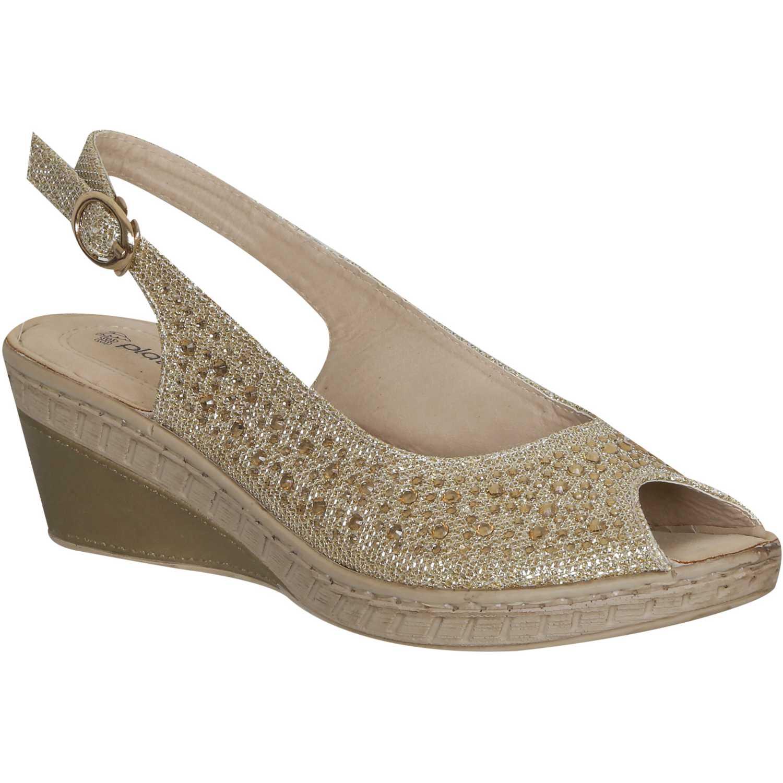 Sandalia de Mujer Platanitos Dorado spt 2523