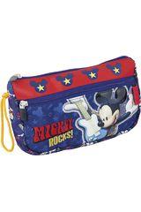 Cartuchera de Niño Mickey Mouse ST203-MCD15 Azul