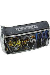 Cartuchera de Niño Transformers ST203-TFB15 Gris