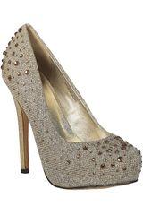 Platanitos Dorado de Mujer modelo FP INGRID02 Zapatos Fiesta Calzado Plataformas