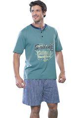 Pijama de Hombre Kayser Verde 77.482