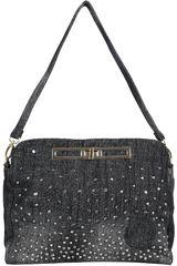 Bolsos y Accesorios de Mujer Platanitos 32014-A Negro