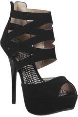 Qupid Negro de Mujer modelo SP DAZZLING182 Casual Cuña Sandalias Mujer Calzado