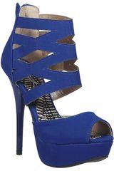 Qupid Azulino de Mujer modelo SP DAZZLING182 Casual Cuña Sandalias Mujer Calzado