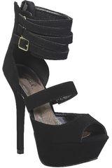 Qupid Negro de Mujer modelo SP LETTI18 Casual Cuña Sandalias Mujer Calzado