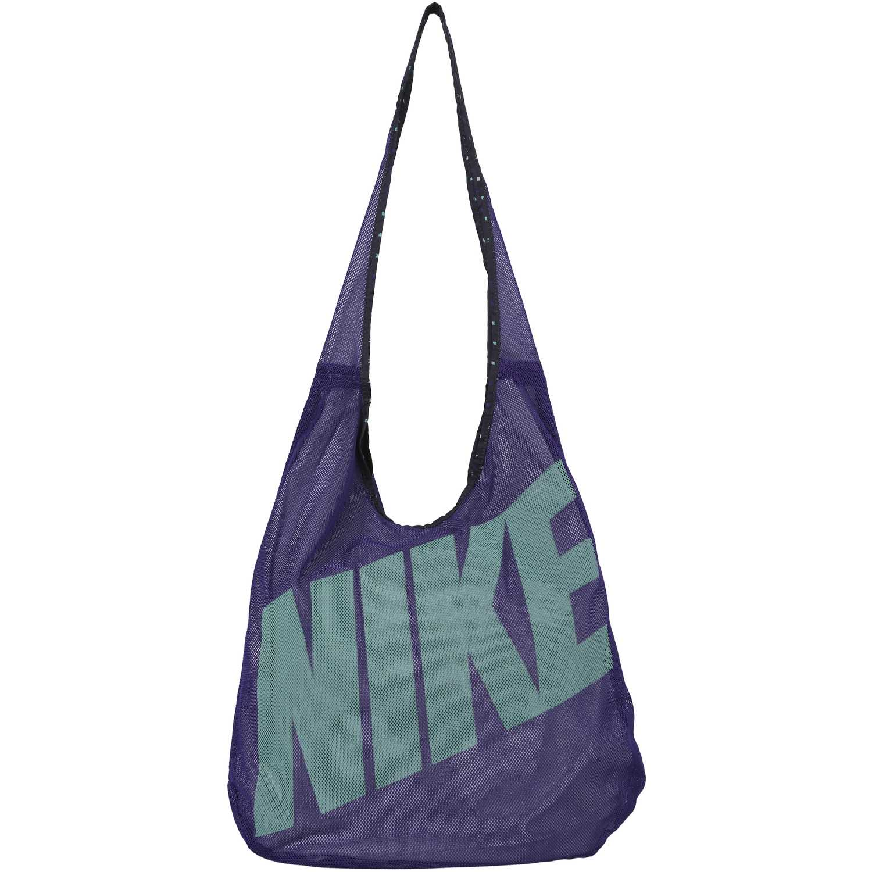 Cartera Deportiva de Mujer Nike GRAPHIC REV TOTE Morado