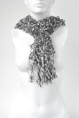 Bufanda de Mujer Platanitos 3338 Negro