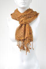 Bufanda de Mujer Platanitos 3909 Camel