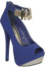 Calzado de Mujer Platanitos CP COUNT61 Azul