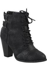 Platanitos Negro de Mujer modelo BT 63 Botínes Casual Tacos Calzado