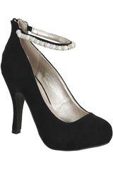 Calzado Fiesta de Mujer Platanitos CP TRENCH216 Negro