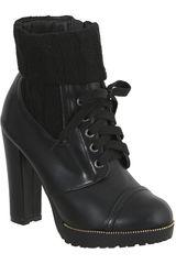 Platanitos Negro de Mujer modelo BTP 141 Botínes Casual Plataformas Calzado