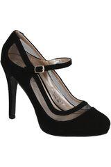 Calzado de Mujer PlatanitosCP WALTZ04 Negro