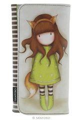 Billetera de Mujer Santoro THE FOX-LARGA Verde