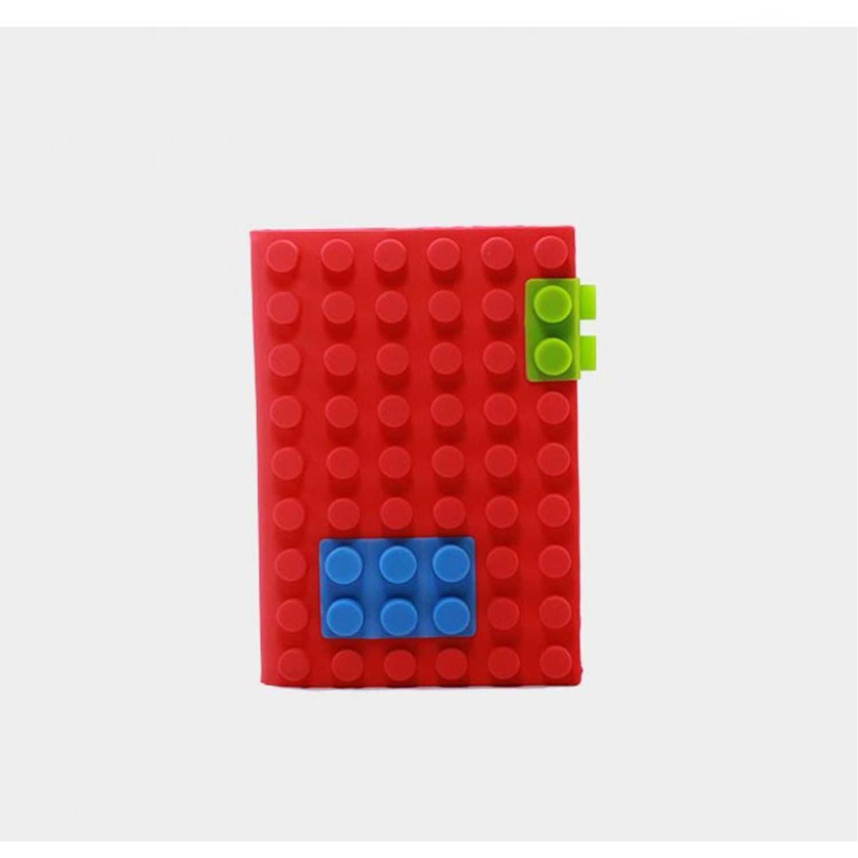Cuaderno  Jimis Rojo lego