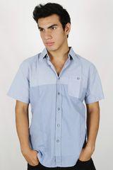 Camisa de Hombre Dunkelvolk DEPTH Azul