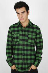 Camisa de Hombre Dunkelvolk OLUKAI Verde