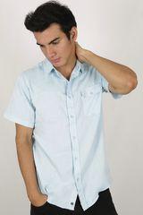 Camisa de Hombre Dunkelvolk SPIKE Celeste
